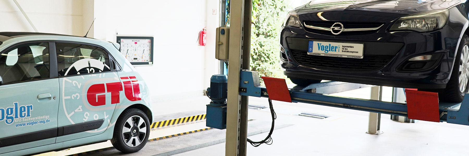Amtliche Untersuchungen - Vogler GmbH - Ingenieurbüro für das Kraftfahrzeugwesen